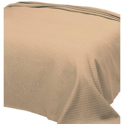 Pure 253 Individueel dekbed van piquee, 180x260 cm, col. beige