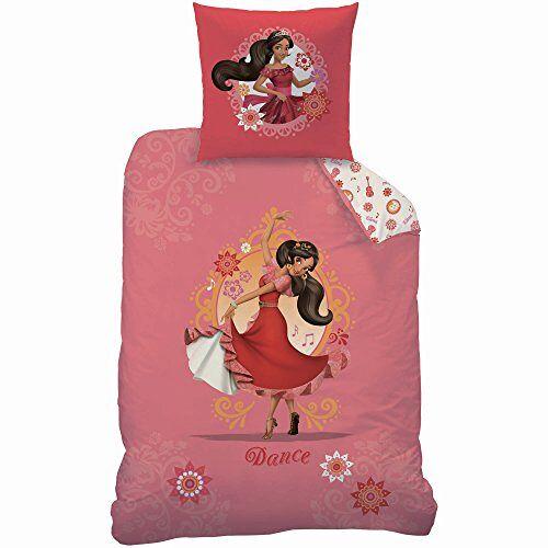 Disney 044699 Elena van avalor Baila beddengoed voor kinderen katoen roze 200 x 140 cm