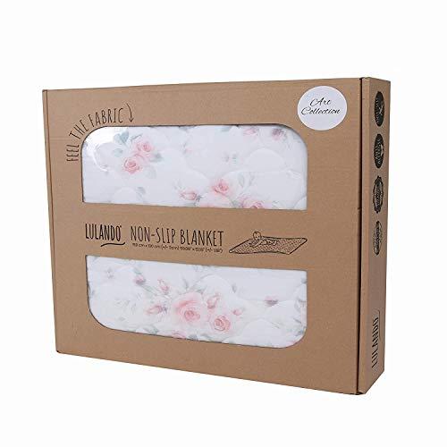 LULANDO 5902659886309 antislipmat om te spelen uit de serie Art Collection, 150 cm x 130 cm, hoge kwaliteit van de productie (roze), meerkleurig, 1800 g