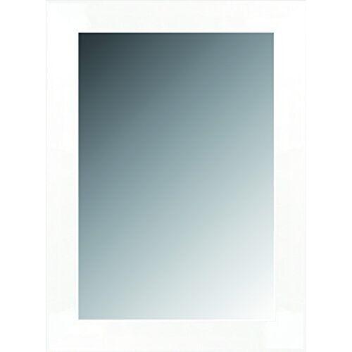 Lienzos Levante Canvas Levante datab06-6 Spiegel bad/gang decoratie, 88 x 67 cm, wit