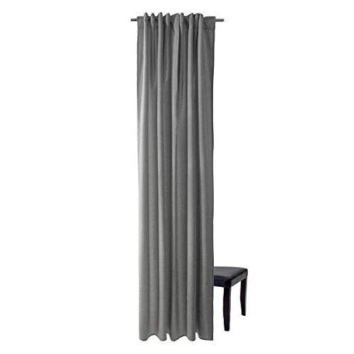 Homing Ondoorzichtig gordijn Uni gordijn grijs (1 stuks) 245 x 140 cm (HxB), 5070-09