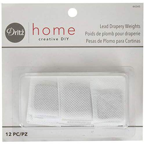 Dritz Home 44345 gewichten voor lood, 12 stuks