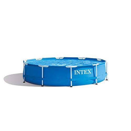 Intex Metalen frame zwembad opbouwzwembad Ø 305 x 76 cm