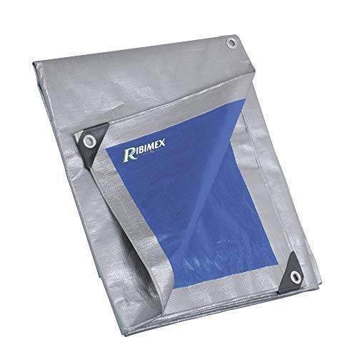 RIBILAND PRB25002X03 Pro dekzeil, versterkt, 2x3 m, 250 g, meerkleurig