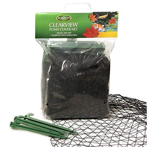 Blagdon Clearview Vijver Cover Net 10m x 6m 4 x 3 m Zwart