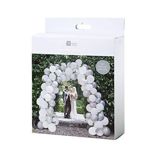 Talking Tables Ballonboog voor het bruidspaar, 80 ballonnen (met 15 meter snoer)