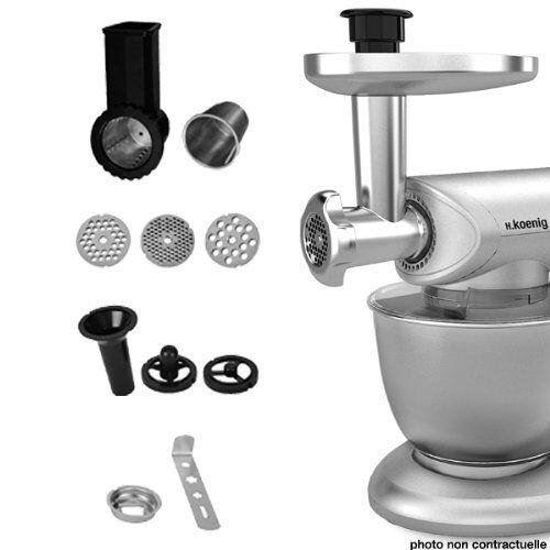 H.Koenig AC8 accessoires voor keukenmachine KM80S