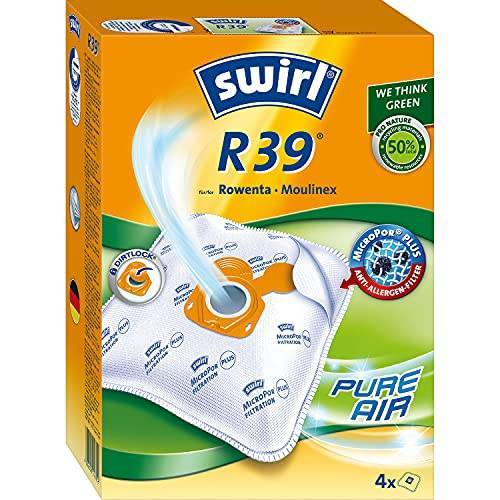Swirl stofzuigerzak, vlies R 39 Voor Rowenta en Moulinex stofzuiger 4 Stück