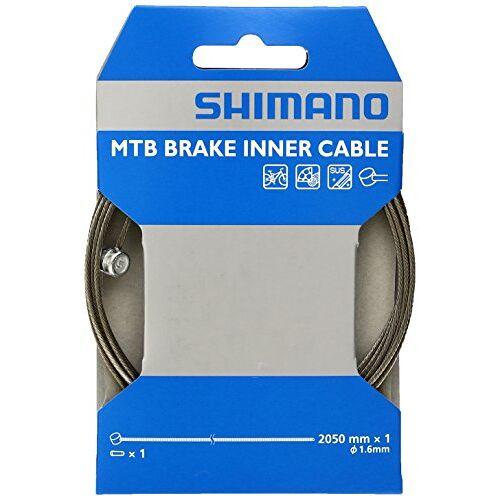 Shimano Unisex Volwassen remkabel MTB, zwart, lengte: 2,05 mm