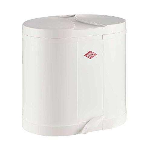 Wesco Eco-verzamelaar 170-2 x 15 liter wit