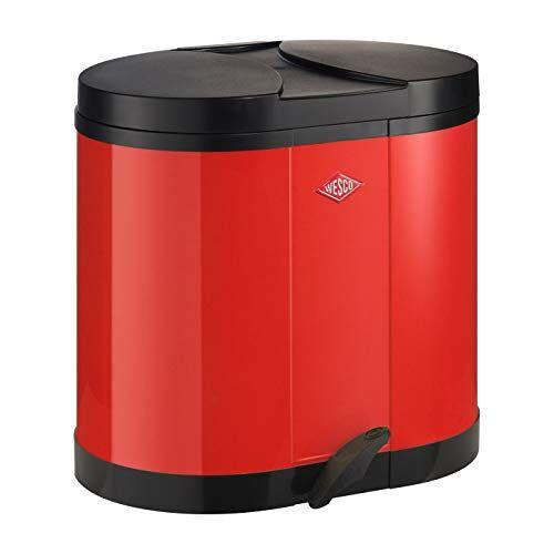WESCO Eco-verzamelaar 170-2 x 15 liter rood