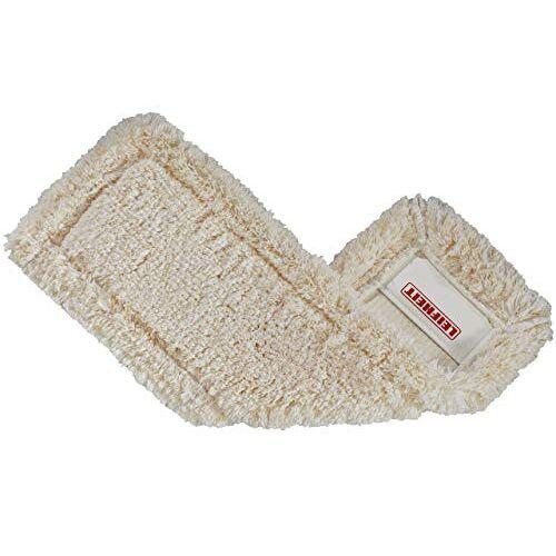 Leifheit EcoPerfect, wisserovertrek van katoen en supra-vezels, zonder kleurstoffen, absorberende vloerwisser reserveovertrek voor stenen vloeren en tegels