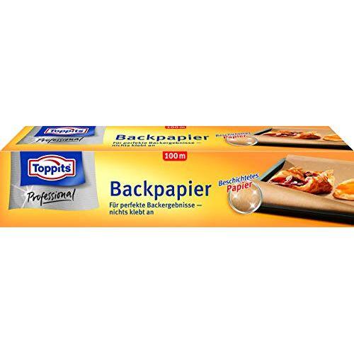 Toppits 6682538 Bakpapier 100 M, Papier