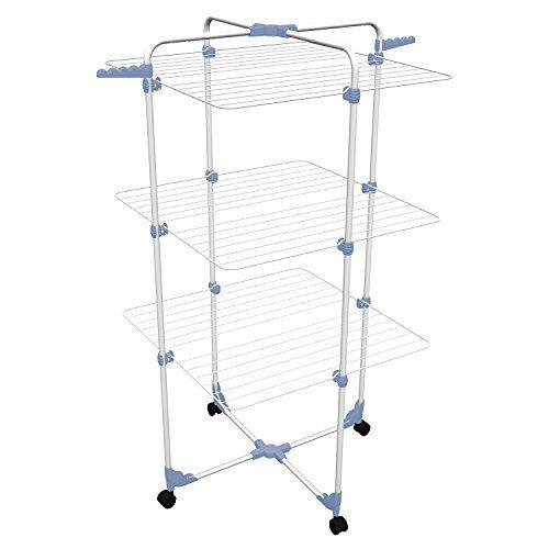 gimi Torendroogrek Modular 3, wit/blauw