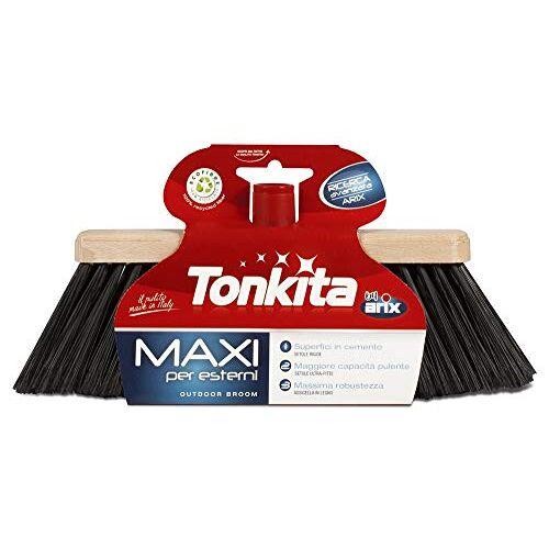 Tonkita Maxi bezemkop voor buitenshuis