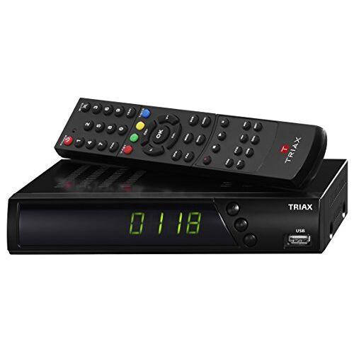 Triax S-HD 11 SAT-ontvanger zwart