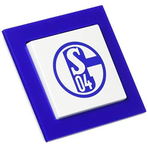 Busch-Jaeger 1012-0-2200 wisselschakelaar 2000/6UJ/02 fanschakelaar FC Schalke 04