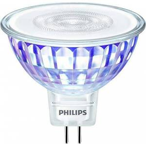 Philips Master 7W GU5.3 A+ wit LED-lamp LED-lampen (wit, A+, 8 kWh, 5 cm, 4,5 cm, 30 g)
