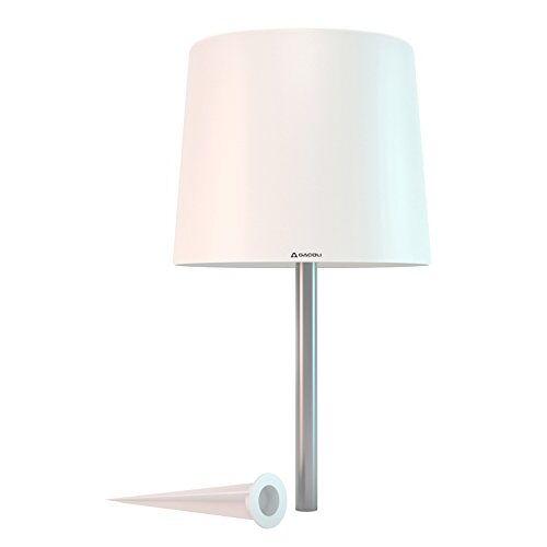 Gacoli Nomad nr. 1-lampada langzame A met druivenwijn, 45 x 30 cm, kleur: wit