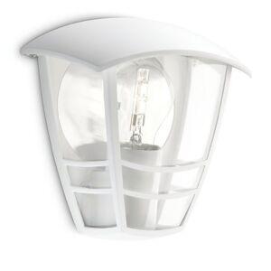 Philips luminaire extérieur demi applique Creek blanc