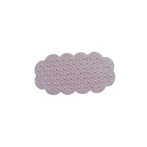 MSV 140195 badkamertapijt, rubber/+ calciumcarbonaat roze 92 x 44 x 0,1 cm
