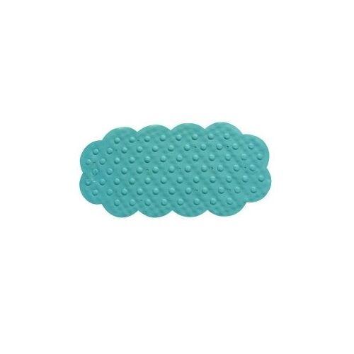 MSV 140193 badkamertapijt, rubber/+ calciumcarbonaat blauw 92 x 44 x 0,1 cm