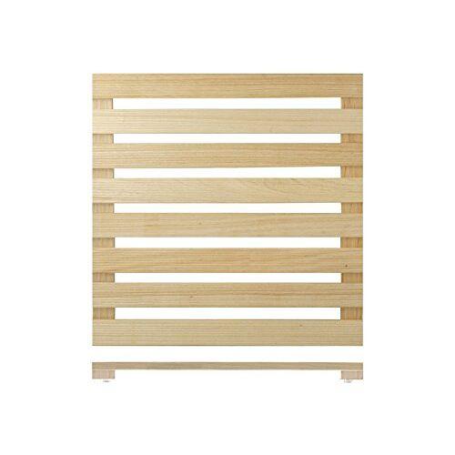 H&H Home Doucheplank, hout, 60 x 60 cm
