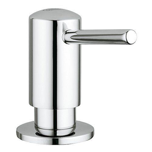 Grohe Cosmopolitan Afwasmiddeldispenser voor ronde armaturen zilver