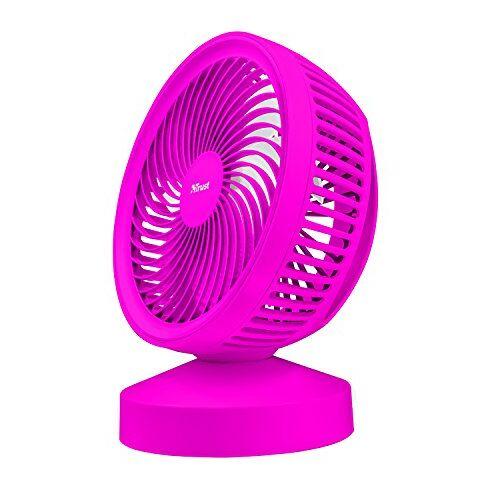 Trust Vento USB-ventilator (mini-ventilator voor kantoor of thuis) roze