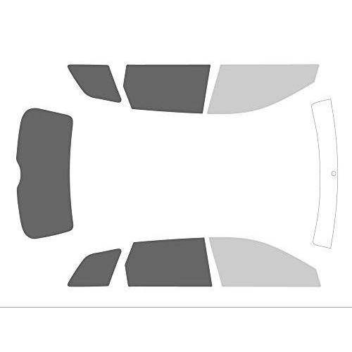 Variance Auto va_k-3-69 1009 2627-1-45 getinte folie complete set zwart 70/20