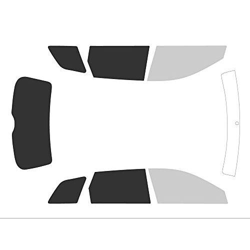 Variance Auto va_k-3-31 473 2777-1-46 Auto-getinte folie, complete set, zwart 70/05