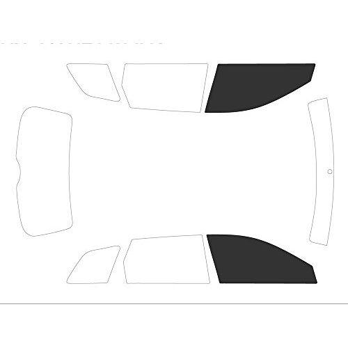 Variance Auto va_k-3-10 127 3187-3-31 getinte folie voor autoruiten, zwart 05