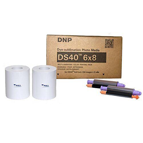 DNP DS 40 Media Foto Printer (2 x 200 Print)