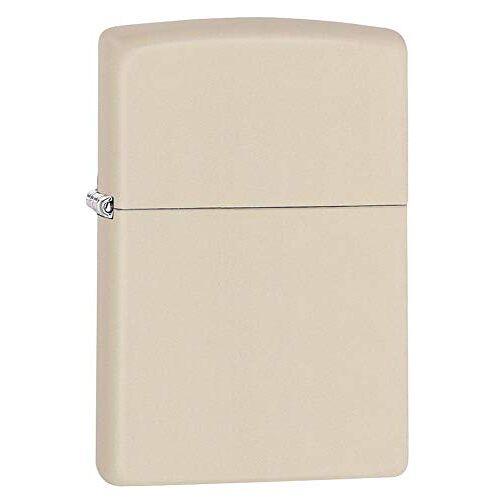 Zippo Aansteker 60001321 PL Cream Matte benzine-aansteker, messing, 1 x 3,5 x 5,5 cm