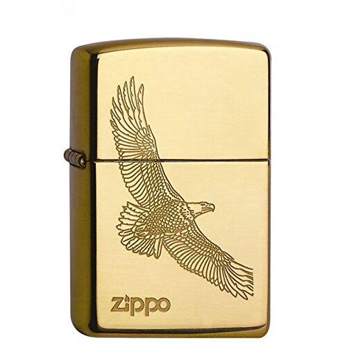 Zippo Aansteker 60001332 Eagle Brass benzine-aansteker, messing