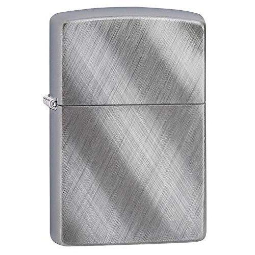 Zippo aansteker 60001256 Linnen Weave benzine-aansteker, messing, 1 x 3,5 x 5,5 cm