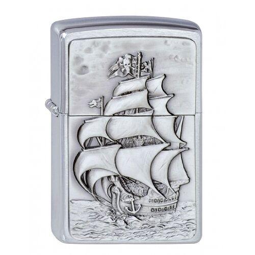 Zippo Pirate's Ship 1300154 Aansteker, benzine-aansteker, messing