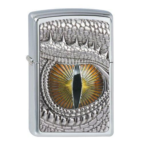 Zippo Dragon Eye 2002539 Aansteker, benzine-aansteker, messing