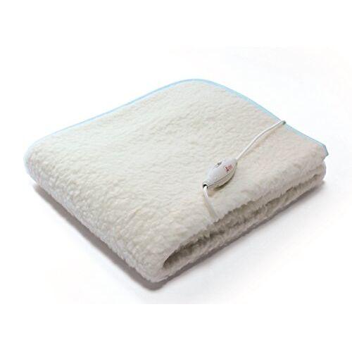 Ardes ARD.411 verwarmingsdeken voor enkele matras, 60 W, 100% wol