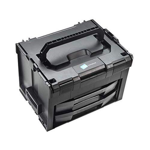 B&W LS-BOXX 306 Gereedschapskoffer (koffer van ABS, volume 24,8 l, 40 x 10 + 5 x 5 x 31 cm binnen) 118,01, zonder gereedschap