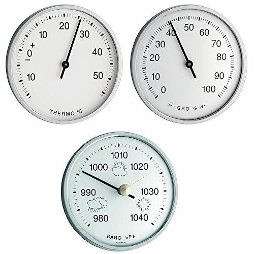 TFA Dostmann TFA-Dostmann TFA 20.3024 Werkset voor weerstation thermometer hygrometer barometer