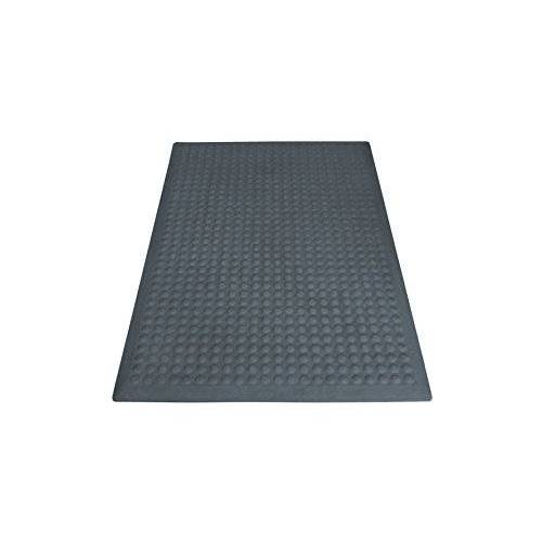 Miltex Yoga Flex Basic vloermat, rubber, grijs, 60x90cm