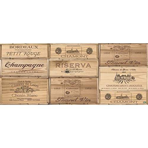 Vilber , Vinyl tapijt, Bruin, Riserva, 50x120x0.2 cm
