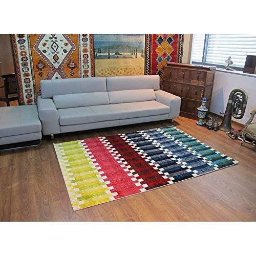 Alfombrista 26 – modern tapijt 73 x 15 x 15 cm kleurrijk