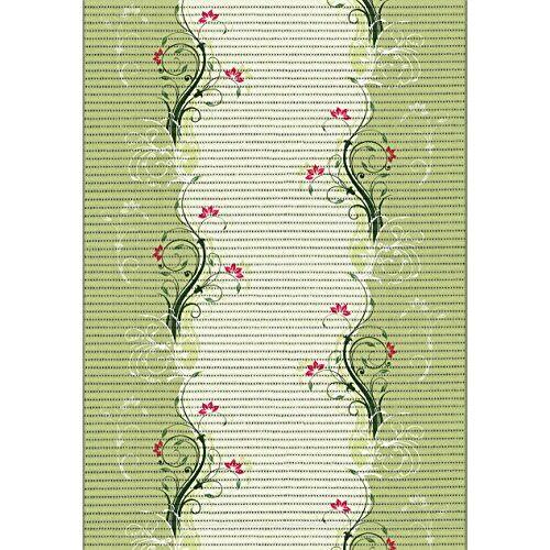 ID Mat multifunctioneel tapijt, 90% geëxpandeerd pvc-schuim op polyesterweefsel, groen, 0,65 x 15 m