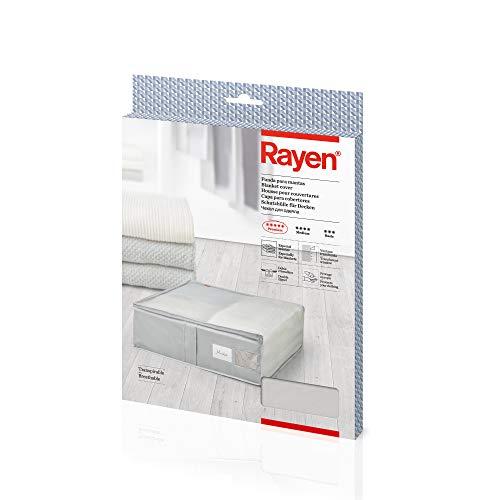 Rayen 2363.50AZUL onderbedcommode, 65 x 55 x 20 cm, ideaal voor dekbedden en dons