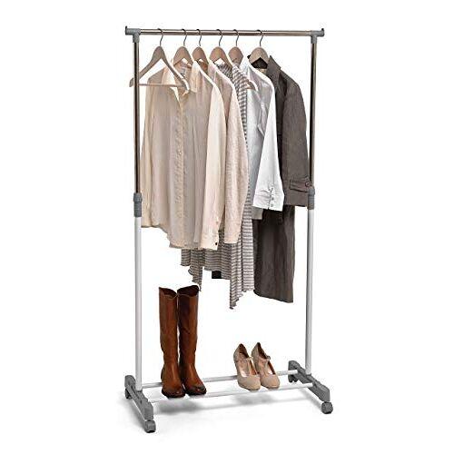Domopak Enkel kledingstuk kleding rek opslag spoor met schoen plank