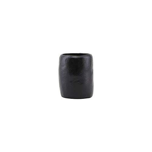 House Doctor Opslag, aarde, zwart, h: 9 cm, dia: 7,5 cm