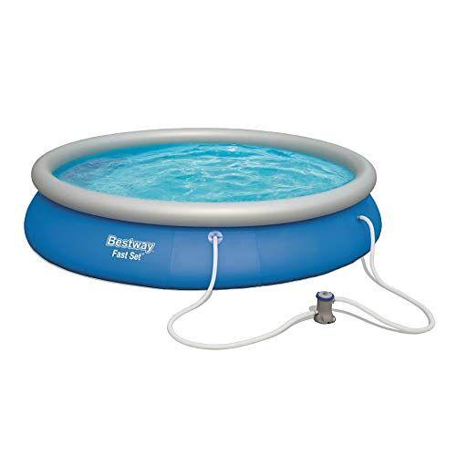 Bestway Fast Set Pool Zwembad, blauw