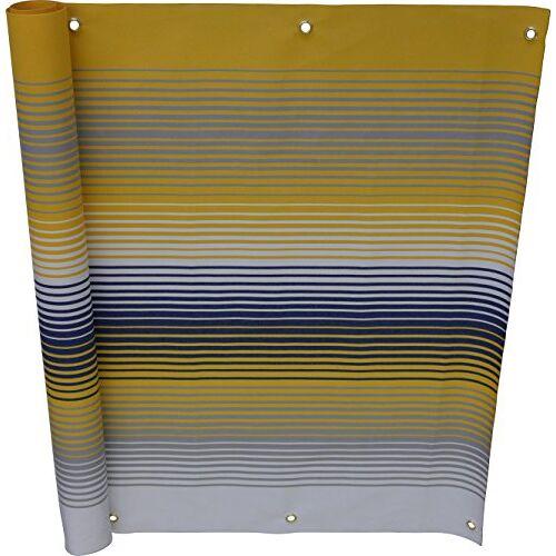 Angerer Balkonbekleding nr. 500 geel, 75 cm hoog, lengte: 8 meter, 3318/500_800